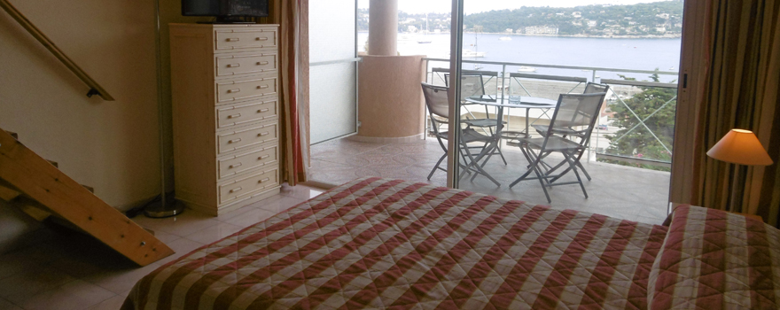 Nos Chambres Familiales Vue Mer  U00e0 Villefranche Sur Mer